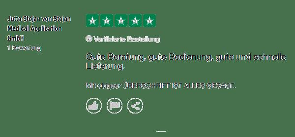 Gute Beratung Bedienung schnelle Lieferung und 5 Sterne für Mr. Mousepad